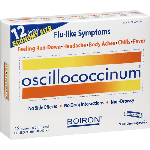 Oscillococcinum– can't spell it, can't pronounce it. Can't live without it for colds and flu.